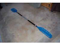 Kober light wooden canoe paddle
