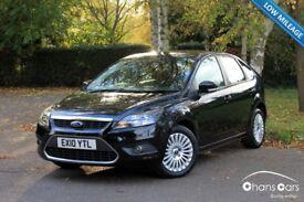 2010 Ford Focus 1.6 Titanium 5dr £4750