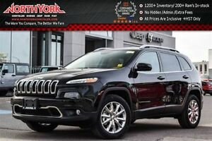 2016 Jeep Cherokee NEW Car Limited 4x4 Nav PanoSunroof Leather C