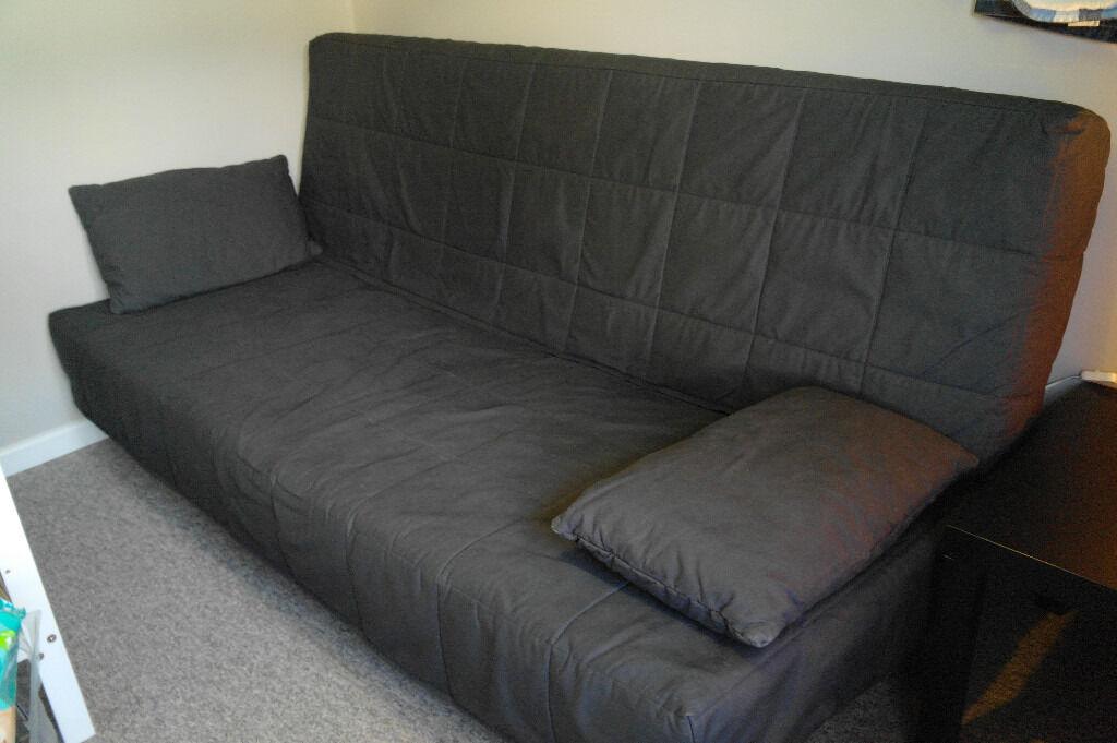 Ikea Beddinge As New 3 Seat Sofa Bed Storage Box Black