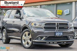 2015 Dodge Durango Limited | BLUETOOTH | LEATHER