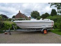 Cap Ferret 502 Open Boat with 50hp Suzuki 4-Stroke outboard for Sale