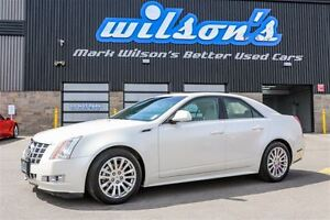 2013 Cadillac CTS $101WK, 4.74% ZERO DOWN! PERFORMANCE AWD! NAVI