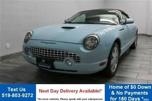 2003 Ford Thunderbird CONVERTIBLE! LEATHER! HEATED SEATS! REVERS