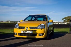 Renault Clio Sport 182 Both Cup Packs Full Fat Liquid Yellow 2.0 16V RARE 2005 A1 CONDITION MUST SEE