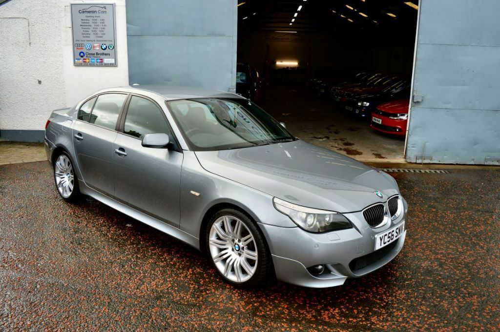 2006 bmw e60 530d m sport silver grey auto fbmwsh low rate finance available not 535 330d in. Black Bedroom Furniture Sets. Home Design Ideas
