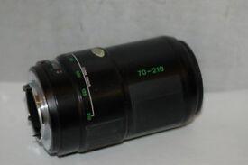 Olympus camera Lens AF Zoom 70-210mm/F3.5-4.5