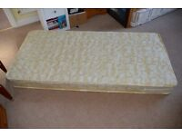 Brand new (Still in plastic wrapping) Pocket Sprung single Mattress 6ft x 3ft with removable cover