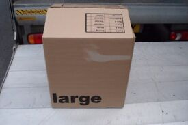 20 large double wall cardboard boxes only used once size 18 x 18 x 20 high