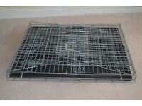 Twin/single dog crate for sale