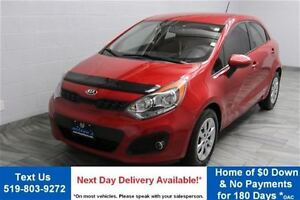 2013 Kia Rio 6-SPEED w/ HEATED SEATS! POWER PACKAGE! CRUISE CON
