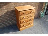 Chest of Drawers - Solid Pine