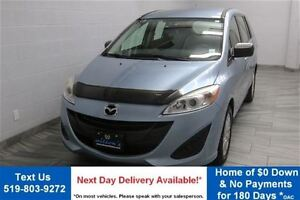 2012 Mazda MAZDA5 GS w/ ALLOYS! POWER PACKAGE! CRUISE CONTROL! A