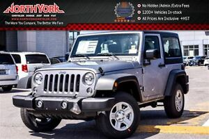 2017 Jeep Wrangler New Car Sport 4x4|Hard Top|A/C|Trac. Control|