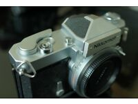 Nikon camera Nikkormat FT-N SLR, F mount, mechanical shutter, manual focus