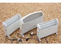 3 Electric Radiator Heaters