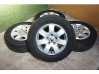 "Genuine VW Transporter T5 16"" Miyato Alloy wheels 5x120 Van Load Rated Alloys Caravelle Bus"