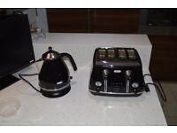 DeLonghi Icona Kettle with matching Toaster