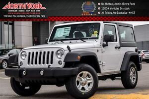 2017 Jeep Wrangler New Car Sport|4x4|HardTop|A/C|Cruise|TowHooks