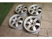 "Genuine Audi A5 17"" Alloy wheels 5x112 Audi A4 A7 A8 VW Golf Caddy Passat Alloys 6spk"