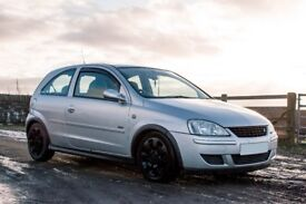 2004 VAUXHALL CORSA C 1.2 DESIGN 12 MONTHS MOT NEW HEAD GASKET AND TIMING CHAIN