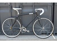 Brand new single speed fixed gear fixie bike/ road bike/ bicycles + 1year warranty & free service 1s