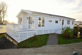 Luxury Lodge For Sale, South Coast, Decking Included