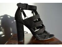 Gladiator Heeled Sandals. Size 7
