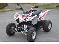 2016 AEON COBRA 400 ROAD LEGAL SPORTS QUAD BIKE WHITE 16 PLATE AUTOMATIC WITH REVERSE CAN DELIVER