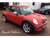 Mini ONE 1.6 , Red, 3 door 2005 IMMACULATE CAR, LOW INSURANCE VERSION, Low Miles 65k, mot May 2018