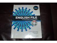 English file pre-intermediate student books