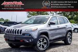 2016 Jeep Cherokee NEW Car|Trailhawk 4x4|Cold Wthr&Comfort Grps|