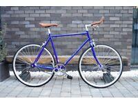 Brand new Hackney Club single speed fixed gear fixie bike/ road bike/ bicycles + 1year warranty ss3
