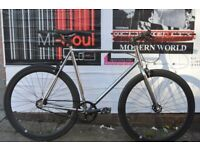 Brand new Teman single speed fixed gear fixie bike/ road bike/ bicycles + 1 year warranty nnaq1
