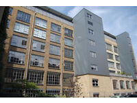 Large contemporary two bed flat in a converted warehouse
