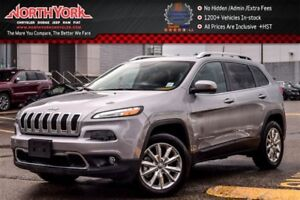 2016 Jeep Cherokee Limited|4X4|PanoSunroof|Nav.|LthrSeats|R-Star