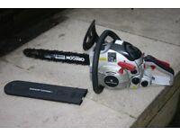 Spear & Jackson petrol chainsaw 16 inch bar Good working order