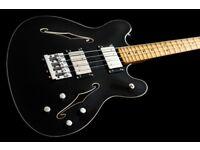 Fender Starcaster Bass in Ebony + Gig bag included
