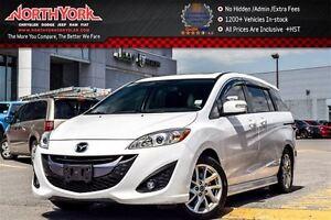 2015 Mazda MAZDA5 GT 6-Seater|Sunroof|Leather|Bluetooth|Sat Radi