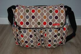 Skip Hop change bag complete with changing mat