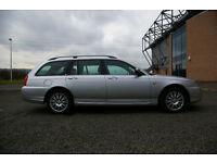 Rover 75 Estate Connoisseur 2L Diesel Automatic, Silver