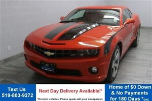 2011 Chevrolet Camaro 1LT COUPE w/ RS PKG! 6-SPEED! LEATHER! 20