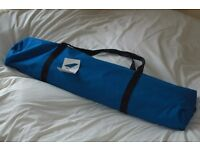 Camp Beds. Fold up style x 2. Hardly used so in excellent condition.