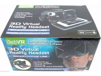 iTech Virtual Reality VR Headset 3D Glasses For iOS Android Phones.............Brand New