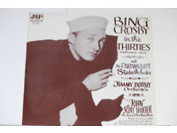 Bing Crosby In The 30's album. Record in good condition, album cover in quite good condition.