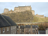 Grassmarket. Websters Land. spacious studio flat with castle views. Ideal professional let.