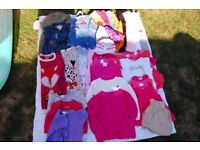 Girls Bundle size 2-3 years 38 items