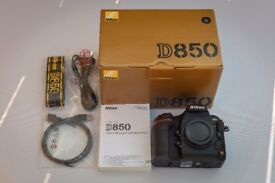 Nikon D850 DSLR Camera - Excellent Condition