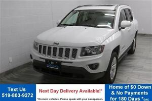 2015 Jeep Compass 4WD HIGH ALTITUDE w/ LEATHER! SUNROOF! HEATED