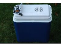 Freezer Box for car etc. Plug in to lighter socket for power, keeps food etc cool. Used Once !!!